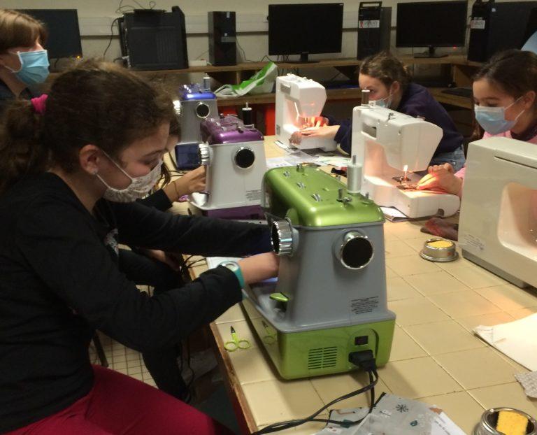 Atelier découverte de la machine à coudre